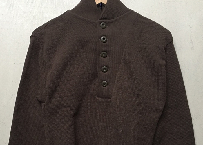 MA-36 アメリカ軍 GI 5BUTTON HENLY SWEATER