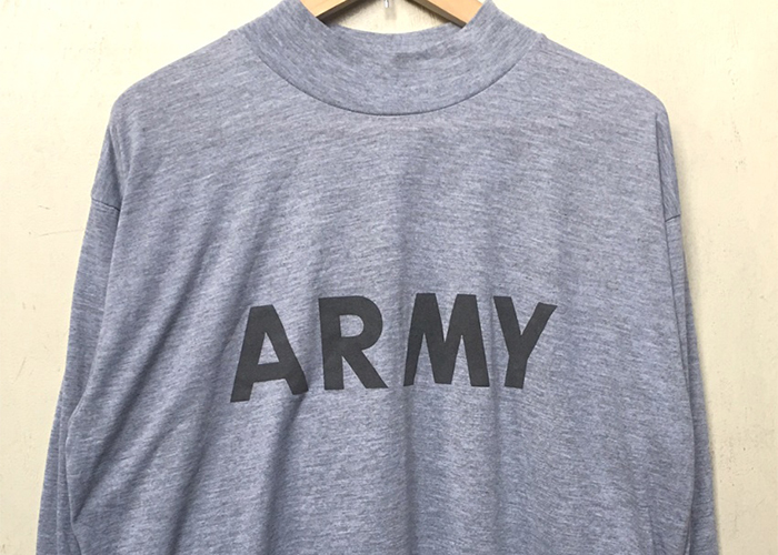 MA-35 アメリカ軍 ARMY MOCK-NECK L/STEE